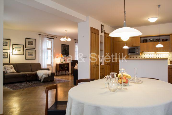 Pronájem, dům 6+kk, 360 m2, Gotthardská ulice, Praha 6 - Bubeneč