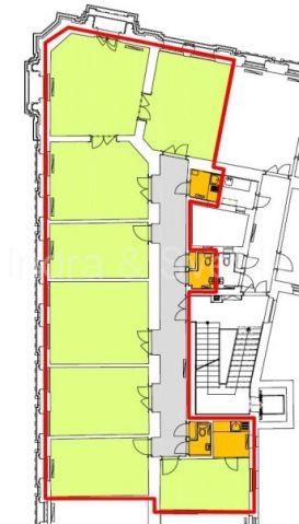 Pronájem, kanceláře 111 m2 a 205 m2, Klimentská ul., Praha 1