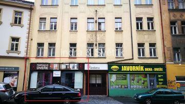 Obchodní prostor k pronájmu, 150 m2, Husitská ul., Praha 3