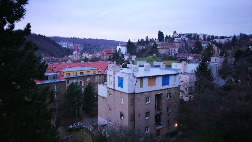 Pronájem, byt 2+kk, 42 m2, Na Pláni, Praha 5 - Smíchov